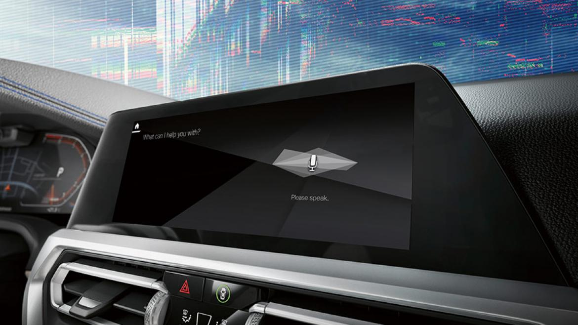 AI音声会話システム (BMW Intelligent Personal Assistant)