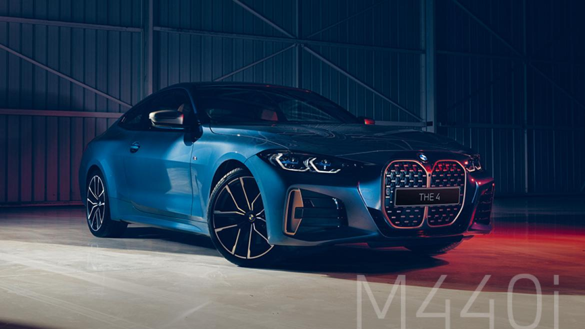 New BMW M440i xDrive Coupé