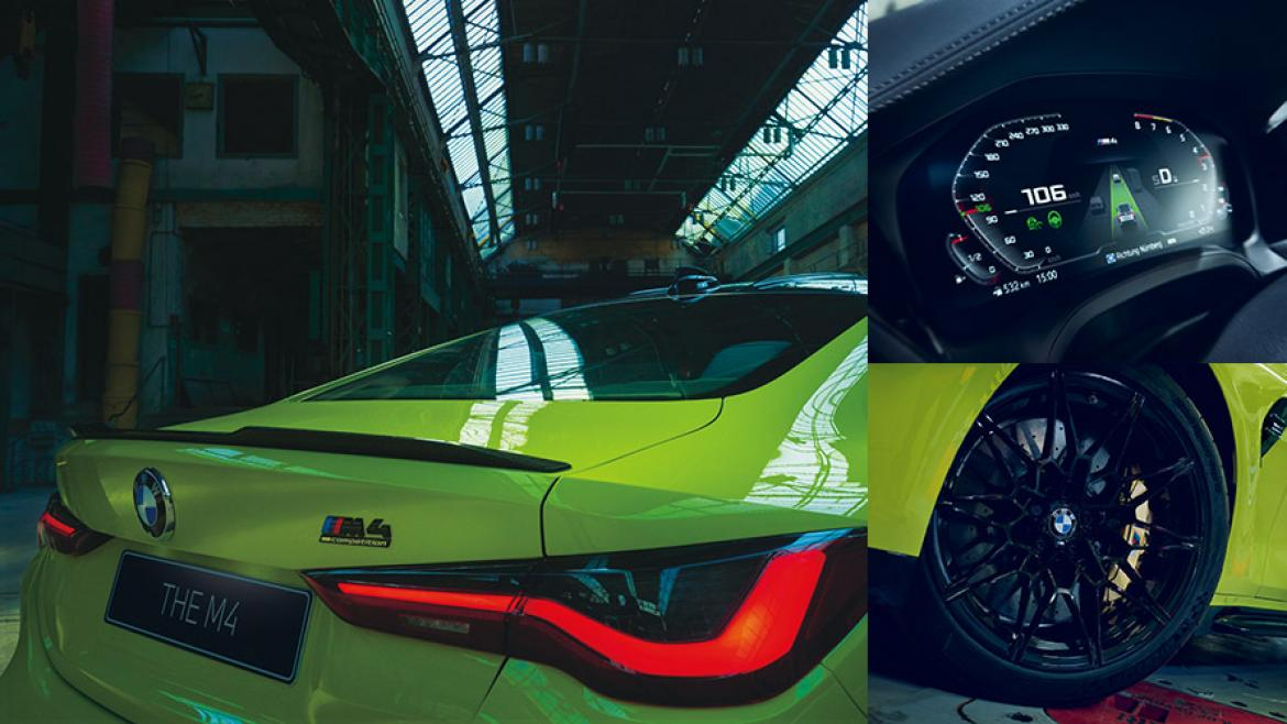 New BMW M4 Coupé Competition